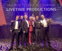 Livetime Productions gekozen tot 'Favorite Technical Production Company'