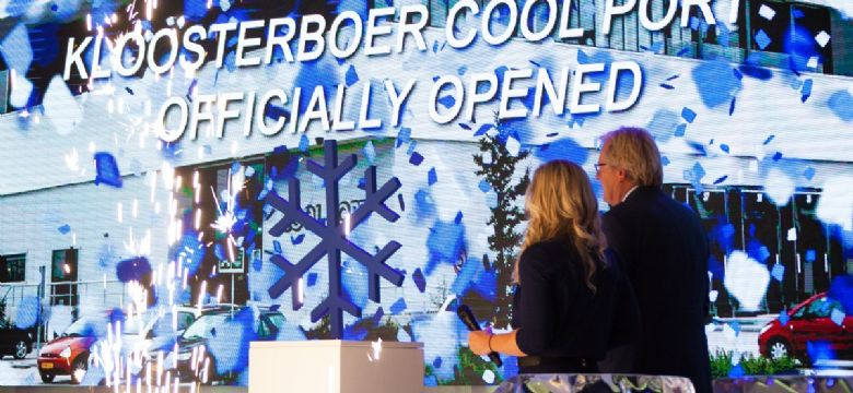 TDG verzorgt spectaculaire opening Kloosterboer Cool Port