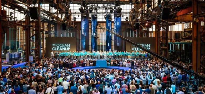 Gouden Giraffe Categorie Congressen: The Ocean Cleanup's The NeXt Phase Event