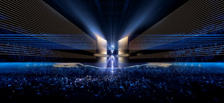 Sneak Preview: Stagedesign Eurovision Songcontest 2020 in Ahoy