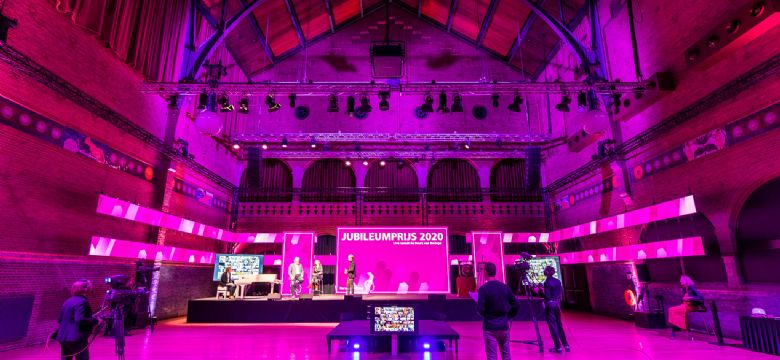 Hersenstichting transformeert groot live event naar online event in Studio Berlage