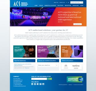 Bezoek de website van ACS audiovisual solutions