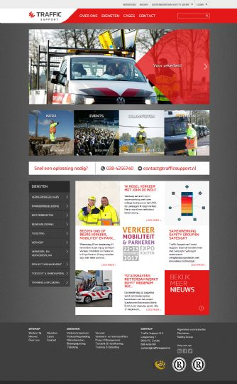 Bezoek de website van Traffic Support